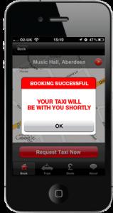 Taxi App Screenshot 2
