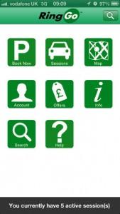 ringgo app screenshot