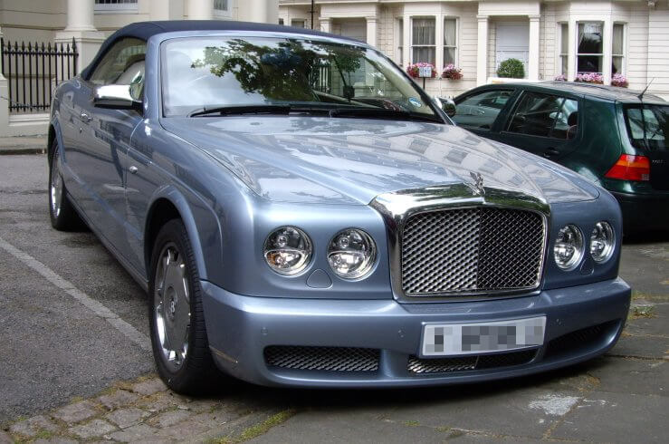 luxury cars bought by councils