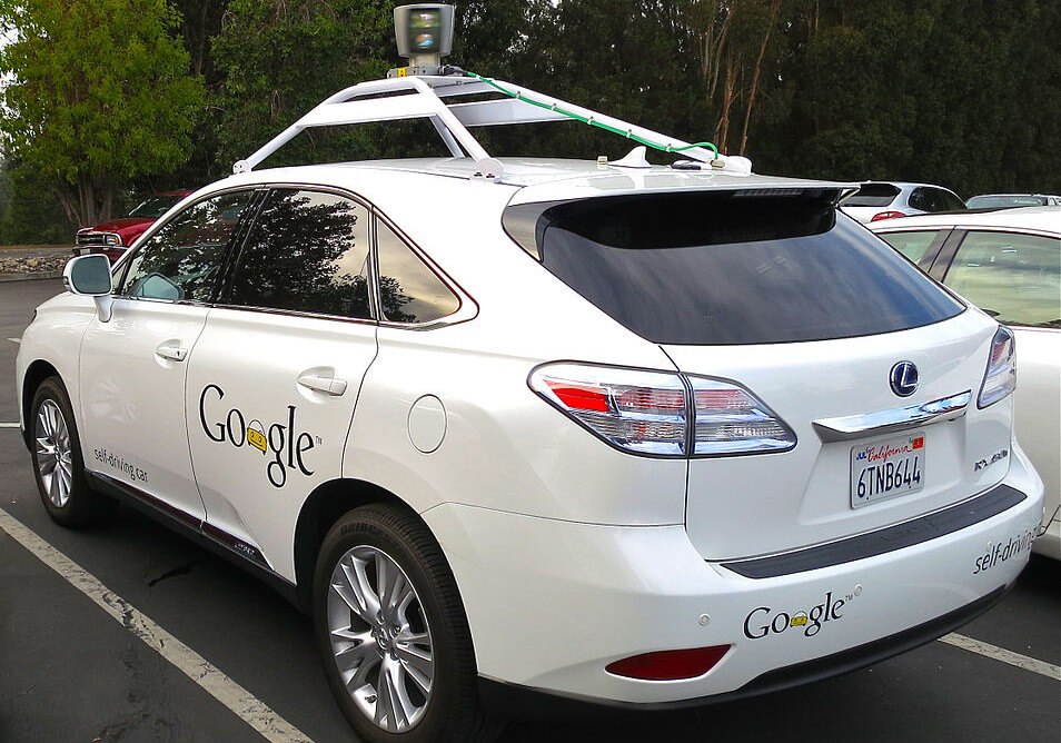An example of an autonomous car developed by Google
