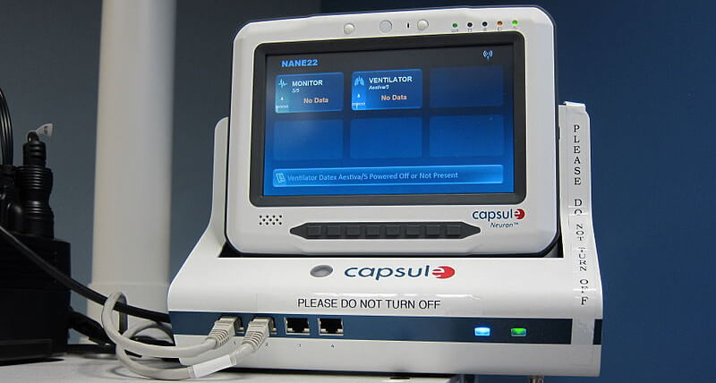 An example of health monitoring equipment