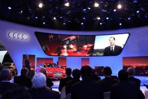 Detroit Auto Show 2012 picture of Audi presentation