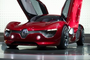 An unreleased concept car from manufacturers Renault