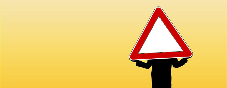 road-risk-warning-sign