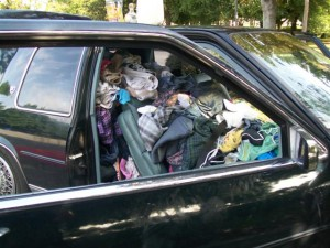 The majority of respondents never fully clean their car