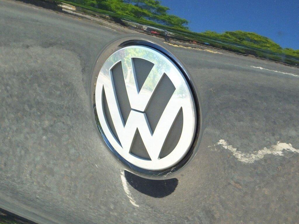 Volkswagen car badge