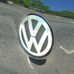 Volkswagen car badge