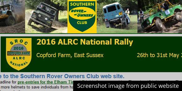 Southern Land Rover Owners Club