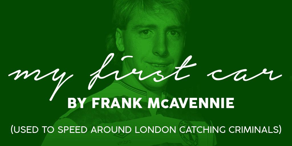 Frank McAvennie First Car Banner