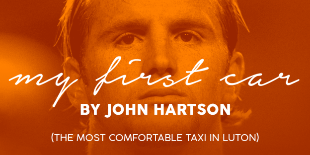 My First Car – By John Hartson