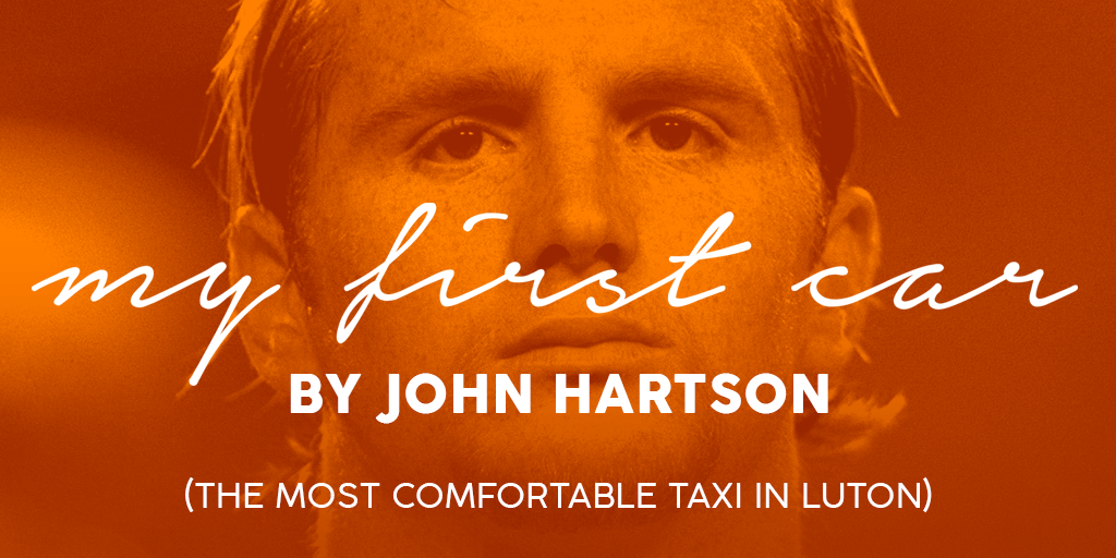 John Hartson - My First Car