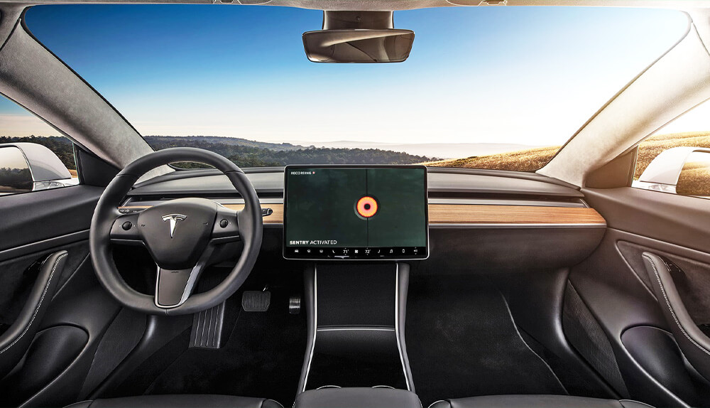 Tesla Model 3 Sentry Mode
