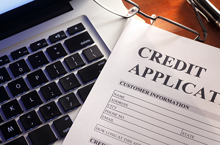 Car lease credit application form