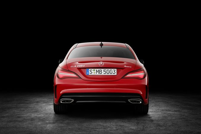 Mercedes benz cla class coupe cla 180 amg line 4dr on for Mercedes benz cla lease deals