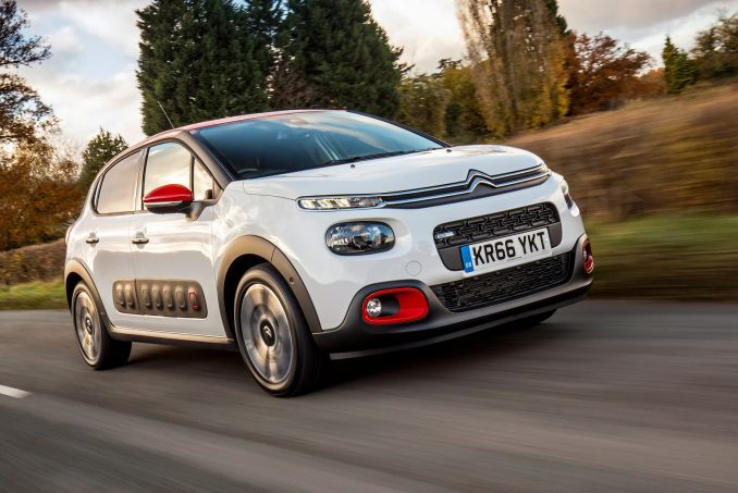 citroen c3 hatchback 1 2 puretech on lease from. Black Bedroom Furniture Sets. Home Design Ideas