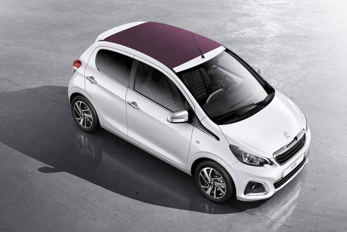 peugeot 108 lease deals - intelligent car leasing