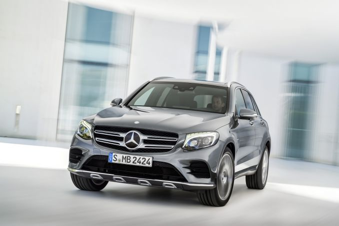 Mercedes-Benz GLC Diesel Estate GLC 220D 4matic AMG Line 5dr 9G-Tronic